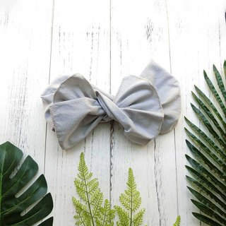 [Shell craft] giant butterfly hair band (Gubu light gray models) - the whole can be disassembled!