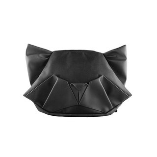 ORIBAGU Origami Bag _ Black Cat Side / Rear Dual Bag