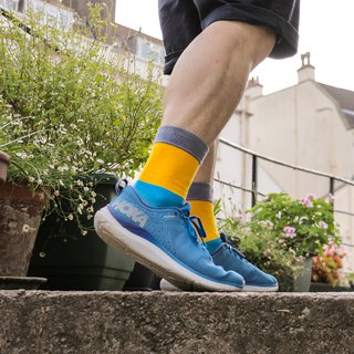 Men's Socks - Sunshine & Smile, British Design for the Modern Gentleman