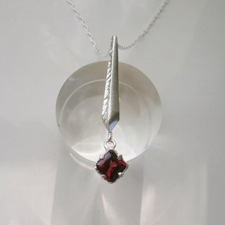 Reed rock necklace