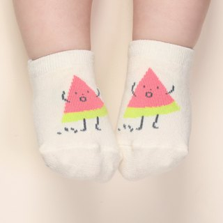 Happy Prince dancing fruit child baby socks Korean system