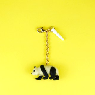 Shibaful 2way Charm Panda Charm Headphone Plug Dual Purpose