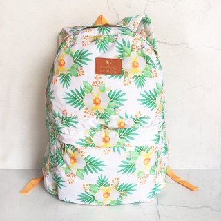 2018 spring and summer ultra light folding travel backpack small fresh spring flowers portable girl models