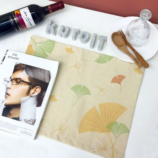 Ginkgo │ Make up your table canvas placemat