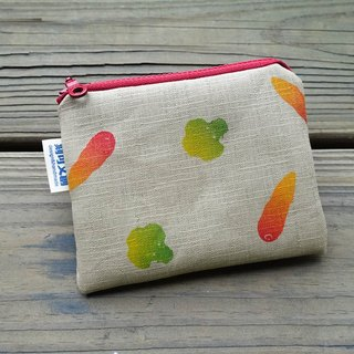 // Free purse / pastoral style // healthy vegetables