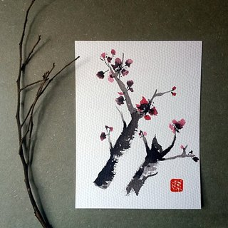Chinese painting card/postcard(Original piece)