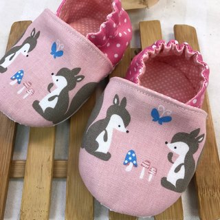 Cute little squirrel - school footwear baby shoes