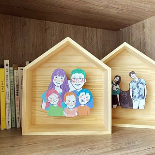 FunPrint 【customized】 picture frame  Valentine's Day Recommend*