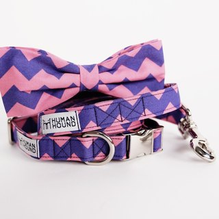 Purple-Pink Chevron