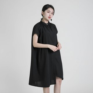 Chemist Chemist Asymmetrical Dress_8SF114_Black