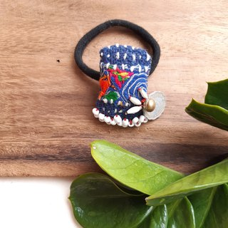 Miao embroidery national wind hair ring -11