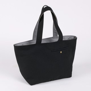Tailor pocket tote bag / black