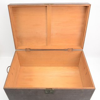 Old Taiwan Xiao Nan wooden suitcase storage storage wooden box