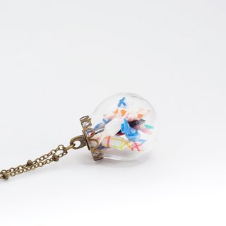 「OMYWAY」Candy Necklace - Glass Globe Necklace