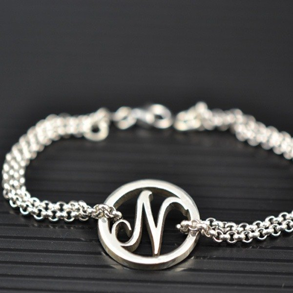 Customized ring .925 sterling silver jewelry BRA00017- edition bracelet / anklet