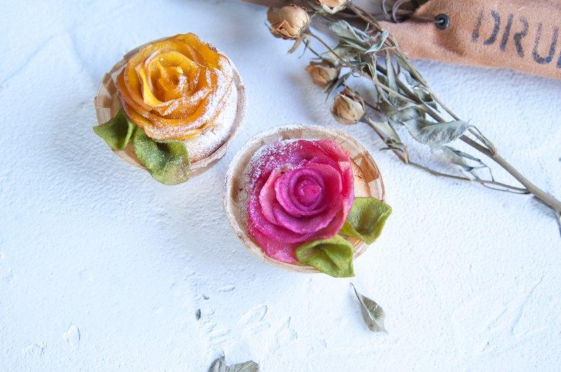 玫瑰蘋果熱蛋糕 |  下午茶 / 野餐 / 告白 / 求婚 / 情人節 / 婚禮