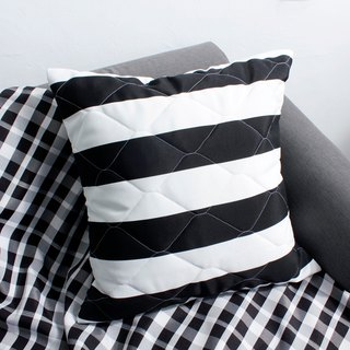 Outdoor picnic fat pillow (including MIT pillow) - black and white film