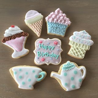 [NIJI Cupcake] birthday sugar cookie dessert paragraph 7 combination