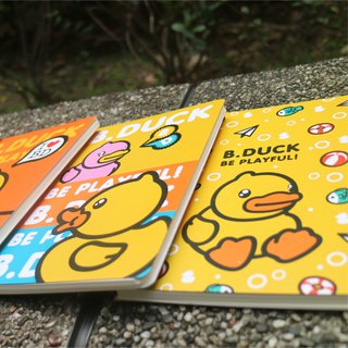 B.Duck Spiral Notebook Size M
