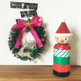 Maste Xmas Christmas Puppet and Paper Tape Set [Christmas Old Man (MST-MKT171-A)]
