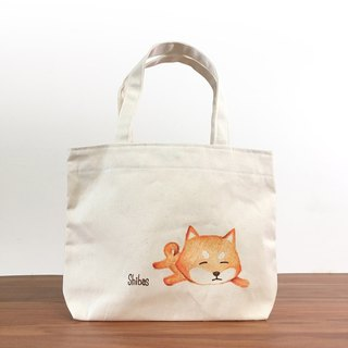 Chai dog - hand-painted bag