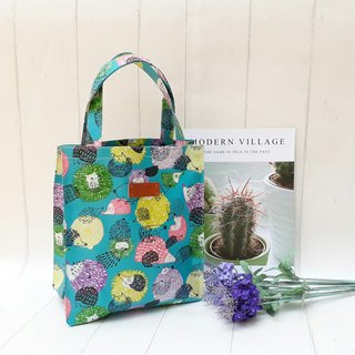 [Waterproof shopping bag] Hedgehog <Japanese and Korean waterproof fabrics>