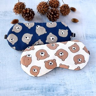 Bear/Matching sleep mask