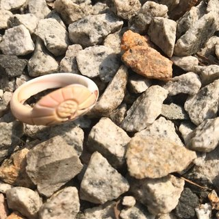 【Lost And Find】Natural  mother of pearl flower ring