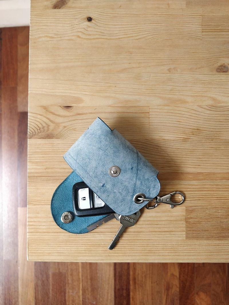 汽車遙控鑰匙套 皮革鑰匙包 汽車鑰匙套 汽車鑰匙包  鑰匙收納包