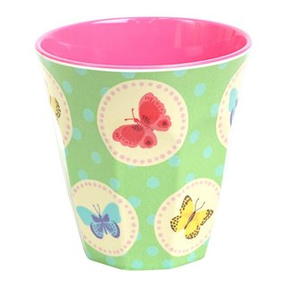 M Butterfly Retro Cup - Green