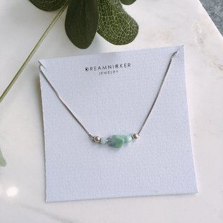 light green adjustment choker