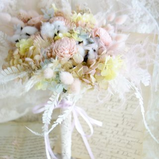 Wedding Floral Series ~ Colorful macaron bouquets