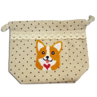 Corgi Drawstring Bag 哥基繩索袋