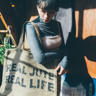Real Life KK Jute Bag