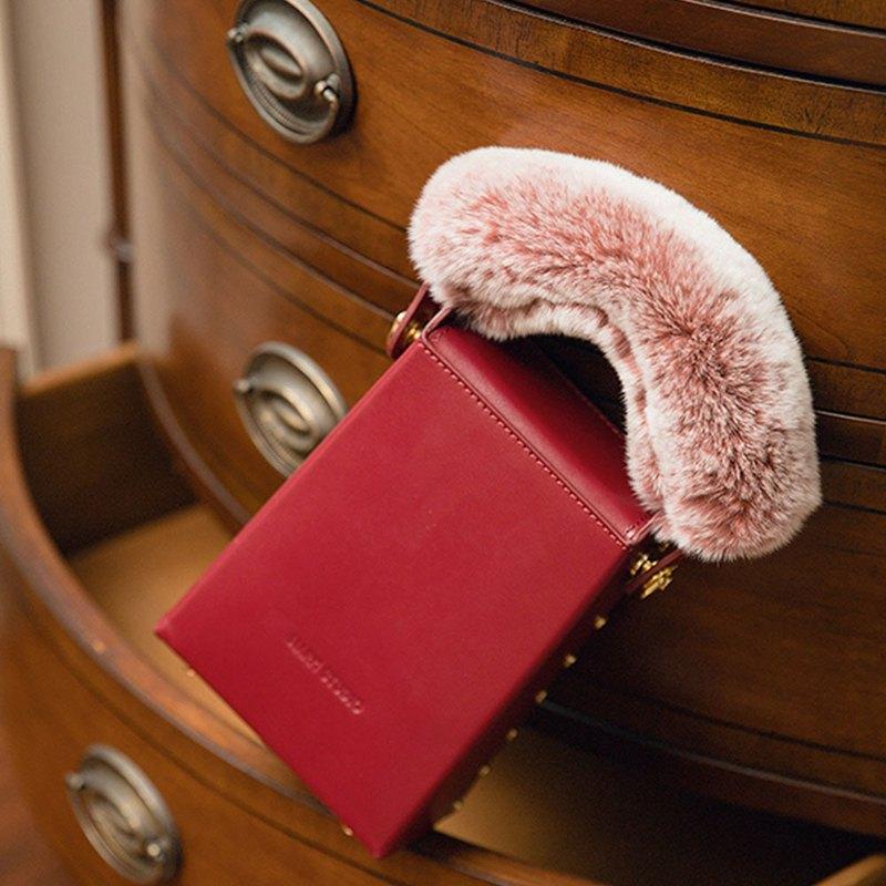 肥肥方塊煙盒包丨小眾原創真皮復古經典單肩側背兩用