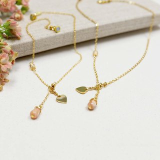 【Sweet Powder Naked】Choker Necklace - Parenting | Sisters (Double Chain Set) | Memorial Marking | Customized | Gifts