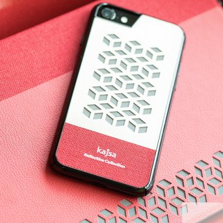 Cube single cover mobile phone case red