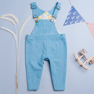 Bag fart strap trousers - animal forest hand made children's wear suspenders children's children's pants