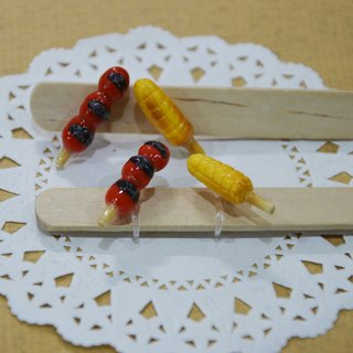 Desktop snack earrings group (ear acupuncture or clip-on)