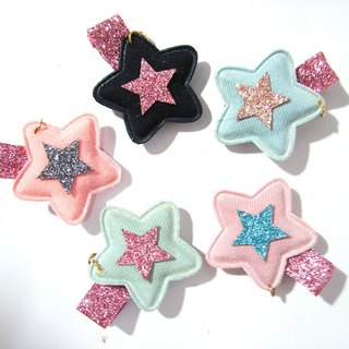 Cheerful. Stars shining hairpin / children hairpin. Limit