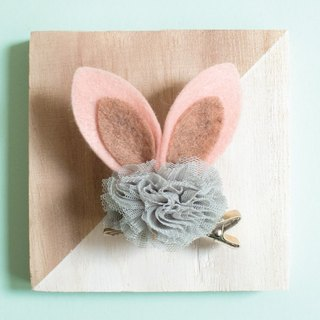 Hairpin hair cloth cloth ball Hair Clip sweet hairpin children headdress children hairpin rabbit ears