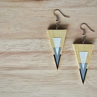 Wooden Earrings No.40