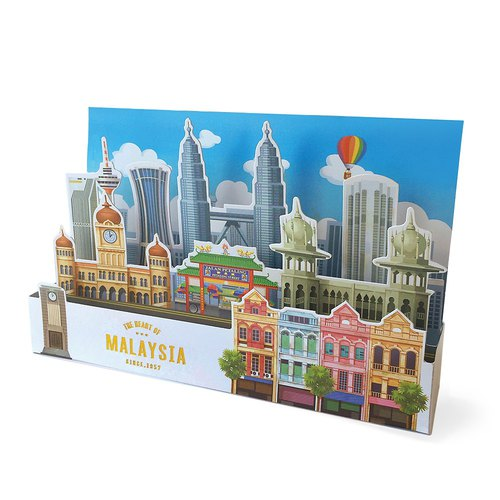 The Heart Of Malaysia Greeting Card