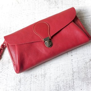 "Soft book Nume leather wallet ""series-envelope"" Rose"