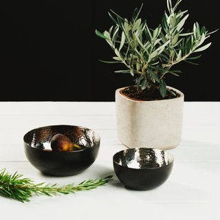 (New-Silver Series) Bowls - One Size Each - The Just Slate Company, UK