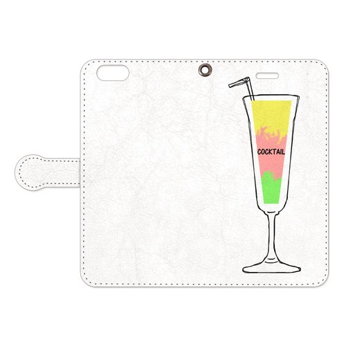 [手帳型iPhoneケース] Cocktail