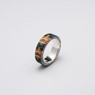 Send wood style ring R0407001