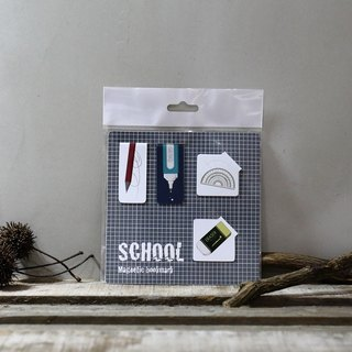 Magnet Bookmark - school stationery [interest]