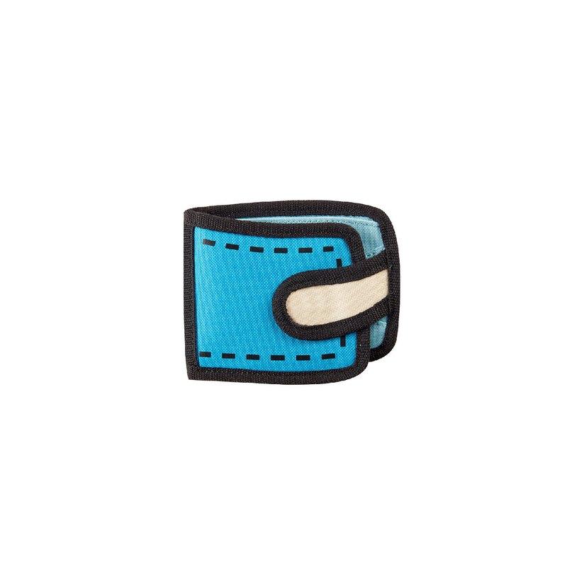 JumpFromPaper 2D包 空氣藍日常短夾 錢包