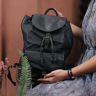 Tsubasa.Y Vintage House Antique BREE Backpack 003, Antique Leather Backpack